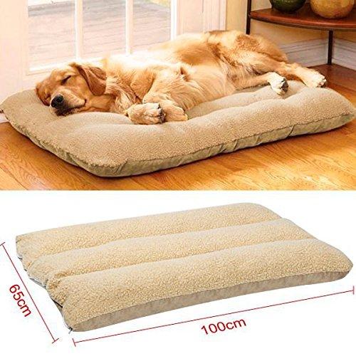 Yaheetech cuccia lettino morbido per gatti cani piccoli animali domestici 100 x 65 cm