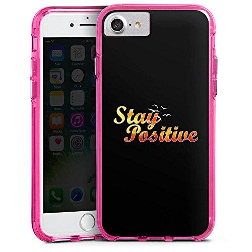 Apple iPhone X Silikon Hülle Case Schutzhülle Visca Barca Fanartikel Merchandise Visca98Barca Youtuber Bumper Case transparent pink