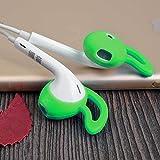 Cover copri apple earpods custodia cuscinetti sport fitness cuffie silicone VERDE