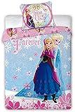 Disney Frozen Die Eiskönigin Baby Bettwäsche 100x135 cm (Oeko Tex Standard 100)