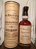 The Balvenie 12yo DoubleWood with case (tube) 70cl old bottle by The Balvenie