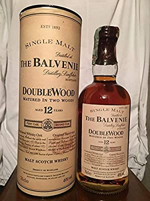 The Balvenie 12yo DoubleWood with case (tube) 70cl old bottle