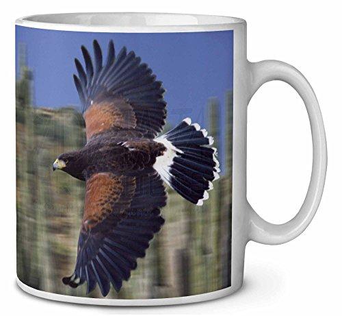 Flying Harris Hawk Bird of Prey Coffee/Tea Mug Christmas Stocking Filler Gift Id