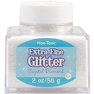 Advantus Crystal-Fine Glitter 2 Ounce, Acrylic, Multicolour, 6.35x6.35x6.35 cm