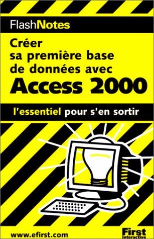 Créer sa première base de données avec Access 2000