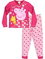 Peppa Pig Girls Peppa Pig Pyjamas Night Night Peppa Ages 18 Months to 7 Years