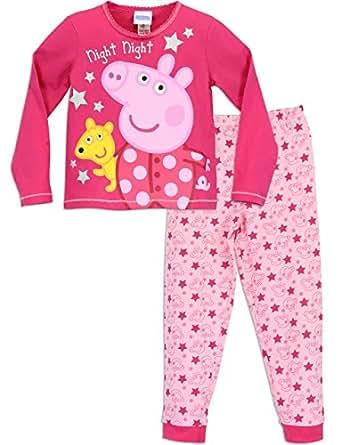 Peppa Pig Girls Peppa Pig Pyjamas Night Night Peppa Age 18 to 24 Months