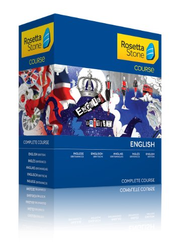 Rosetta Stone Course - Komplettkurs Englisch (Britisch)
