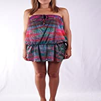 L.Bolt Butterfly Wings Tunic Monos, Mujer,, M