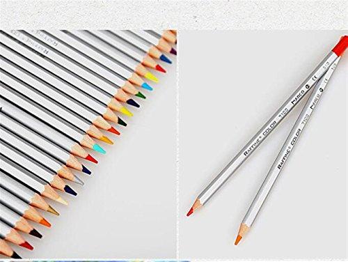 Personalisierte Bleistifte Farbstifte 24PCS Kunst-Farbton-Bleistifte, Öl-Zeichnungs-Bleistifte eingestellt mit Tin Box