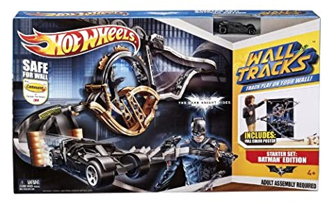 Hot Wheels Wall Tracks Batman The Dark Knight Rises Trackset