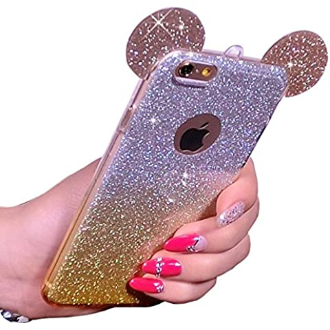 Sunroyal® Mickey Funda para iPhone 6 Plus 5,5