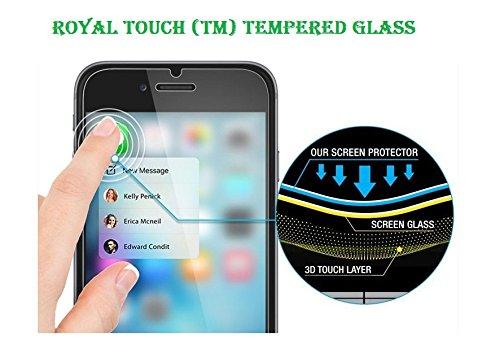 Royal Touch (TM) SONY XPERIA Z3 PLUS (Z3 +) (Sony E6553) FRONT & BACK SIDE TEMPERED GLASS SCREEN PROTECTOR / BUBBLE FREE APPLICATION / HOLE FOR FRONT PROXIMITY SENSOR & CAMERA / NO HANGING PROBLEM / HIGH QUALITY JAPANESE AGC GLASS MATERIAL / 9H HARD 0.3MM SLIM THICK / 2.5D CURVED EDGE