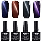Annabelle Katze Augen Magnet Nagellack UV Nagellack Soak Off Nail Art 7.3ml (7.3ml/pc Lot de 4) 059