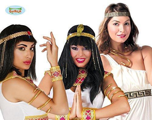 Fiestas Guirca GUI18136 - Ägyptisches Schlangen-Armband (Schlange Armband)