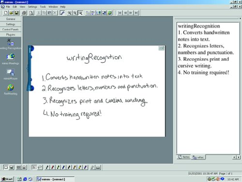 Mimio WritingRecognition 2.0 CD OCR Software for Mimio & Flipchart