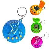 AOLVO Elektronisches Mini-Tamagotchi, Gen 2 LED Haustier-Ei Dinosaurier Virtuelle Haustiere Eier Kinderspielzeug Spielmaschine – 90er Jahre digitales Haustier