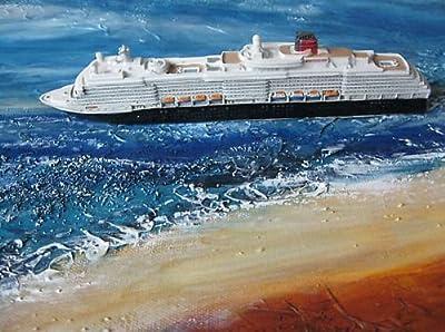 Schiffsmodell Queen Victoria Miniatur Boot Schiff Deko