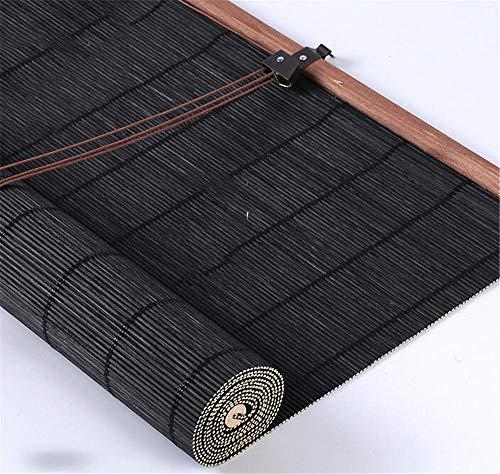 Bambusjalousien Rollläden im Freien Roll Up Schatten für Deck Yard Pavillon Pergola Patio Veranda @ 2_1.5 * 4m