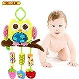 Baby Kleinkindspielzeug Glöckchen Stoff Schöne Bunte Farben für Kinderwagen Hänge-Spielzeug