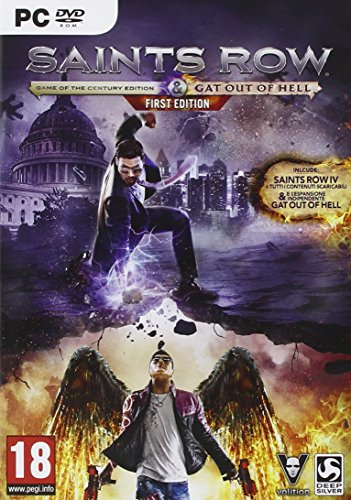 Foto Saints Row IV: Re-Elected - Gat Out Of Hell - Fiorst Edition - PC