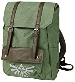 Zelda Link Hooded Canvas Backpack Green