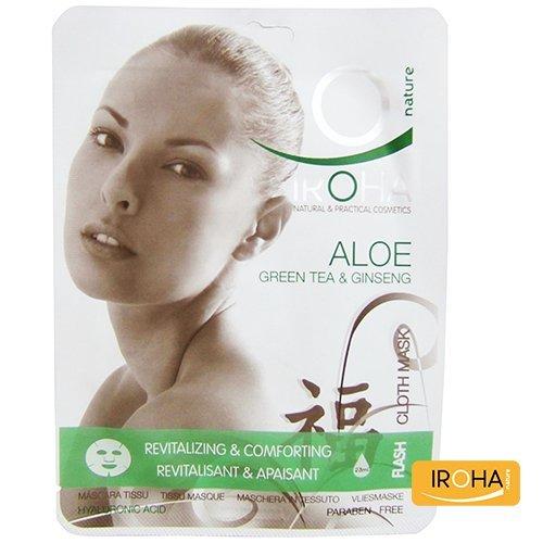 Maske mit Aloe Vera grünem Tee und Ginseng
