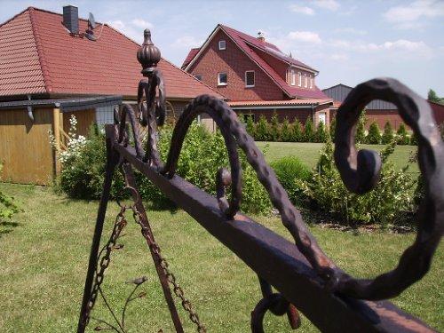 Schaukel Hollywoodschaukel Gondel 1868 aus Metall Schmiedeeisen Gartenschaukel - 5