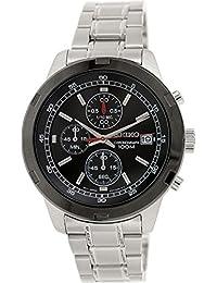 Seiko SKS427P1 - Reloj de cuarzo para hombre, correa de acero inoxidable color metalizado