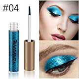 Monochromatique Fard à Paupière,WUDUBE Waterproof Durable Mode Makeup Palette Stylo d'ombre à paupières...