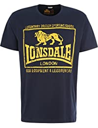 Lonsdale London Hombres Ropa Superior/Camiseta Hounslow