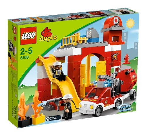 LEGO Duplo 6168 - Feuerwehr-Hauptquartier