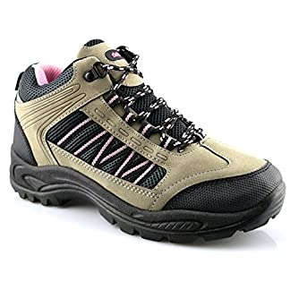 Dek Ladies Womens Walking Hiking Trail Lace Up Hiker Ankle Boots Shoes Size 3-8 4