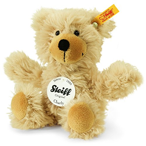 Steiff-16cm-Charly-Dangling-Teddy-Bear-Beige