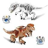 Jurassic World Educational Dinosaurier Spielzeug Modell Puzzle Montage Blöcke für Kinder Geschenke - Gelegentliche Lieferung
