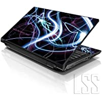 "10,2 LSS 10 pulgadas Laptop netbook Skin adhesivo Decal apto para 7"", 8"", ""8,9 10,2"" 10"" de"" HP Compaq Apple Lenovo Asus Acer (2 pegatinas con muñecas incluidos gartuitamente) Brain Activity"