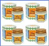Tiger Balm Tigerbalsam Weiß Thai Original 30g schnelle Wirkung