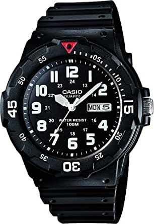 Casio Herren-Armbanduhr Analog Quarz Resin MRW-200H-1BVEF