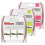 Wilson Pro Perforated Tennis OverGrip- Green (Pack of 3)