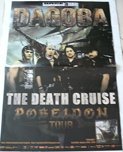 Dagoba - The Death Cruise - 70 x 100 cm Mostra/Poster