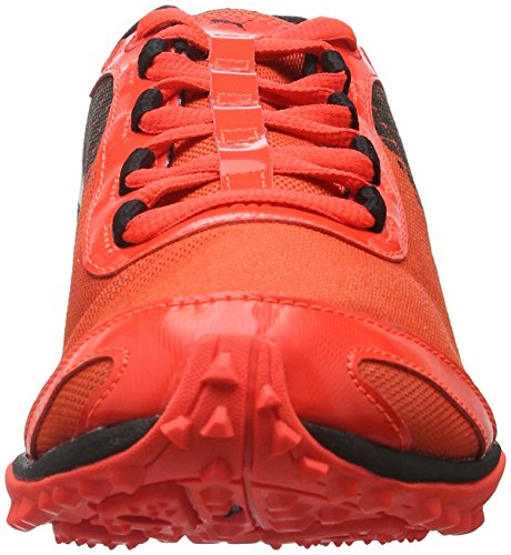 Puma Evospeed Haraka V3, Chaussures dAthlétisme Homme Rouge - Rot (Red blast-puma black-puma White 01)