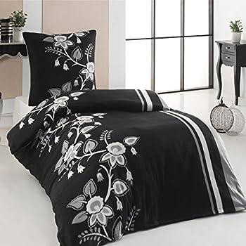 microfaser flausch fleece winter bettw sche 135x200. Black Bedroom Furniture Sets. Home Design Ideas