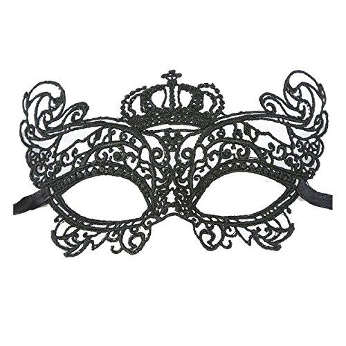 URSING Masque Sexy pour Les Yeux, Masque de Bal Masquerade, Carnaval, fête, Noir