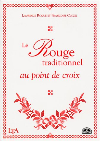 Le rouge traditionnel au point de croix