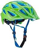 ALPINA Erwachsene Mythos 3.0 Fahrradhelm, neon-Green-Blue, 57-62 cm