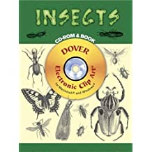 Insects CD-ROM and Book (Dover Electronic Clip Art) (2007-03-15)
