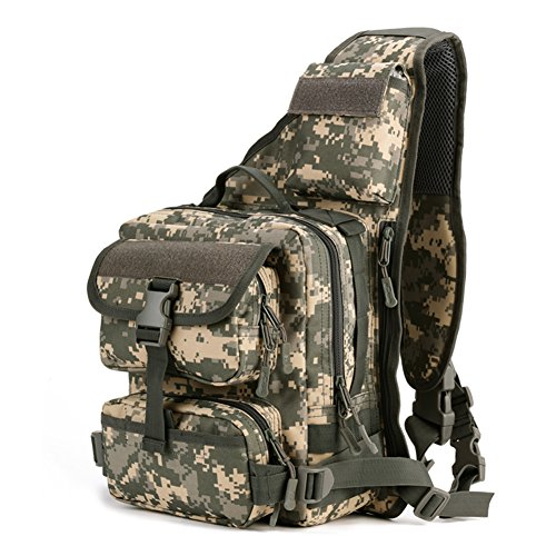 magcomsen Man Assault Rucksack Wandern Sling Pack Military Army Tactical Nylon Tasche ACU
