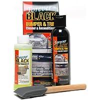 Forever Black Por siempre los productos de Cuidado de Automóviles para siempre Negro parachoques y molduras Kit fórmula mejorada y un tamaño más grande