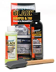 Forever Car Care Products Forever Black Bumper & Trim Kit (NEW Improved Formula & Larger Size)