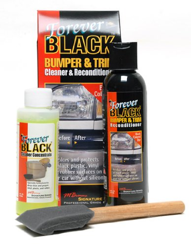 Price comparison product image Forever Black Forever Car Care Products Bumper & Trim Kit (NEW Improved Formula & Larger Size)